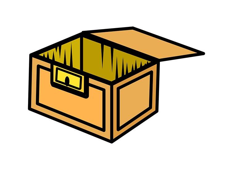 756x550 Download Free Wooden Box Clip Art Vector Illustration