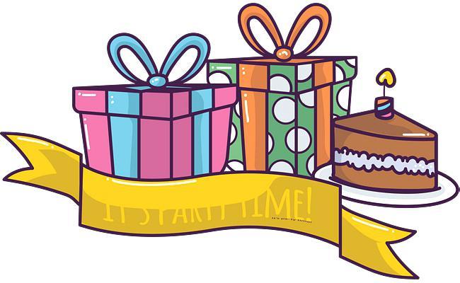 650x400 Free Clip Art Present Birthday Presents Clip Art Free Birthday