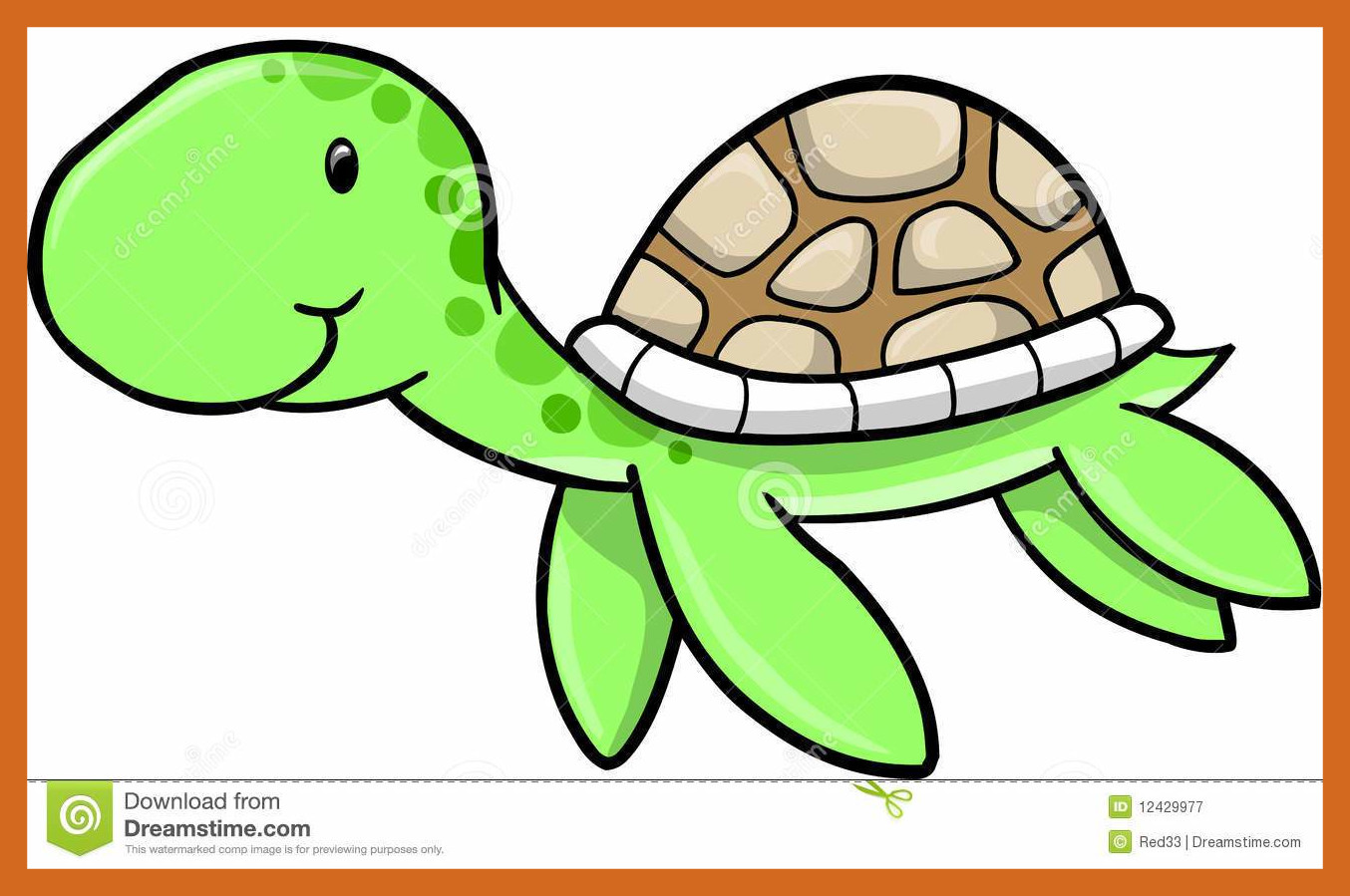 Box Turtle Clipart
