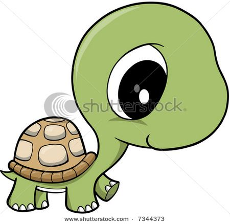 450x438 Cartoon Turtle Stock Vector Baby Turtle Vector Illustration
