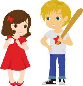 288x300 Boy And Girl Clipart Image
