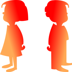 297x299 Figures Boy And Girl 2 Clip Art