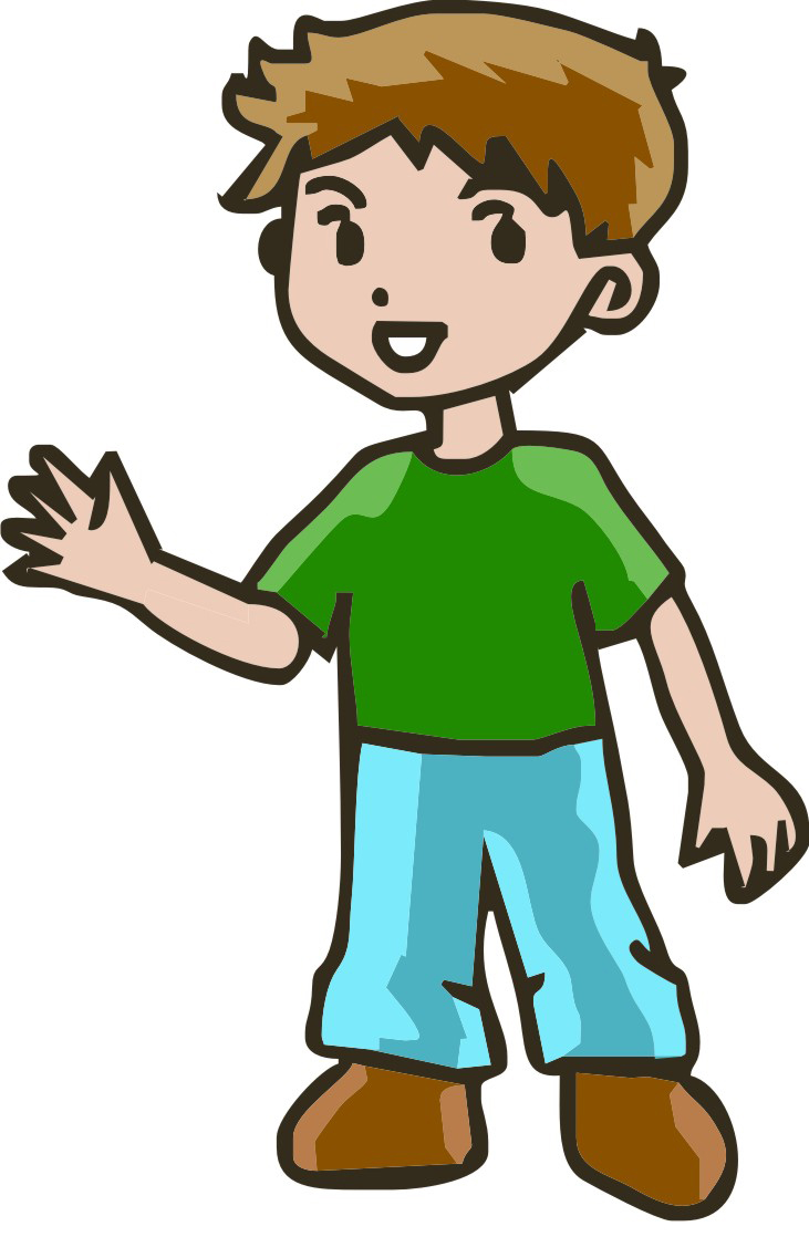 731x1118 Little Boy And Girl Clipart