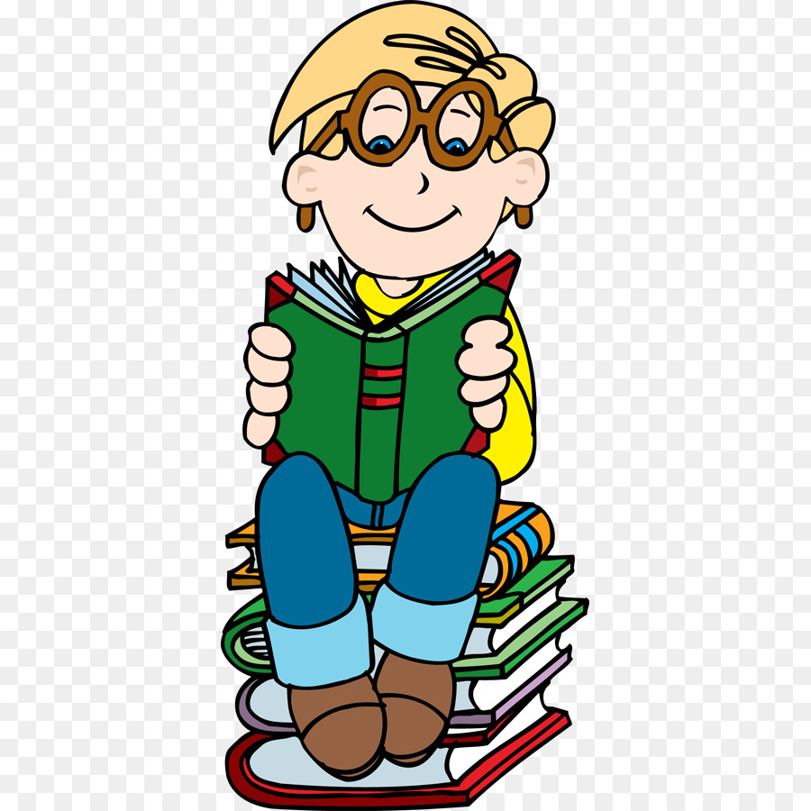900x900 Book Reading Boy Clip Art
