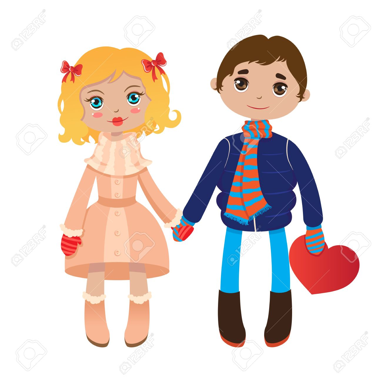 1300x1299 28+ Collection of Clipart Boy And Girl Holding Hands High