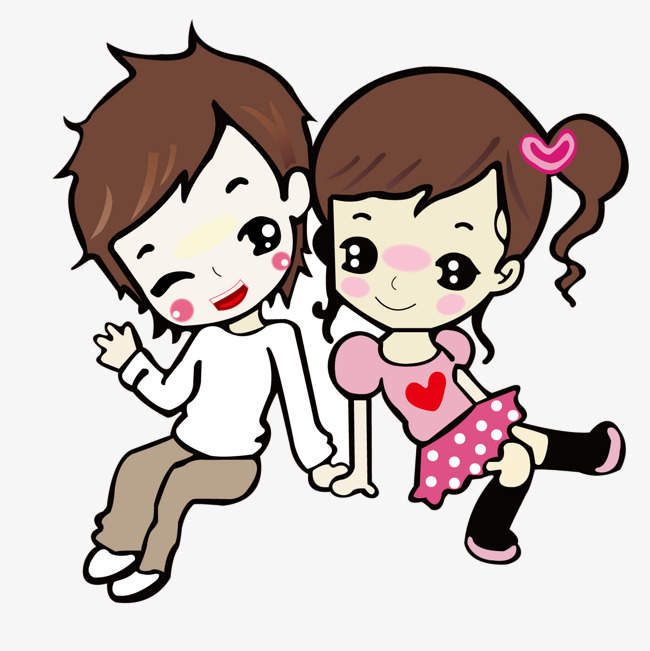650x651 Cartoon Couple Png Images Vectors And Psd Files Free Download