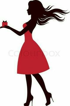 236x355 Girl With Umbrella Silhouette Png Transparent Clip Art Image