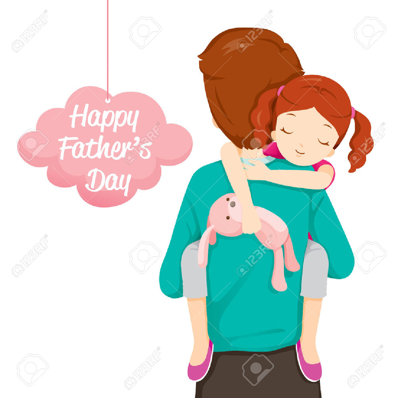 1300x1300 Kissing Clipart Father And Daughter