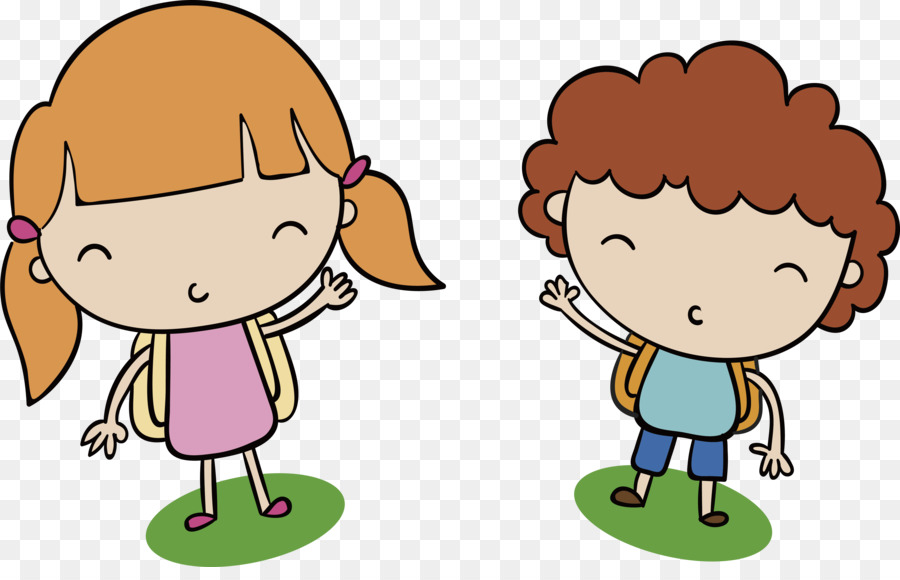 900x580 Boy Girl Drawing Clip Art