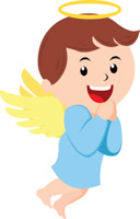 128x200 Search Results for angel clipart
