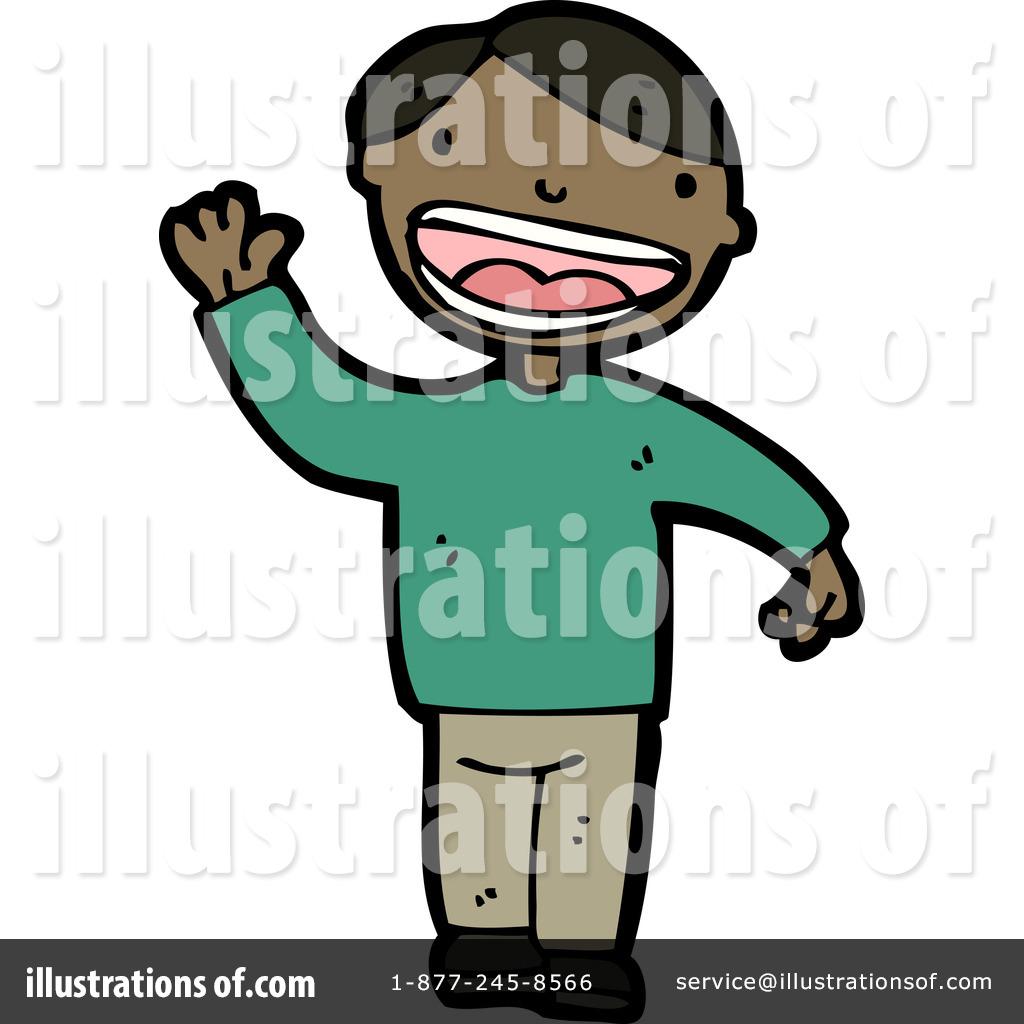 1024x1024 African American Boy Clipart