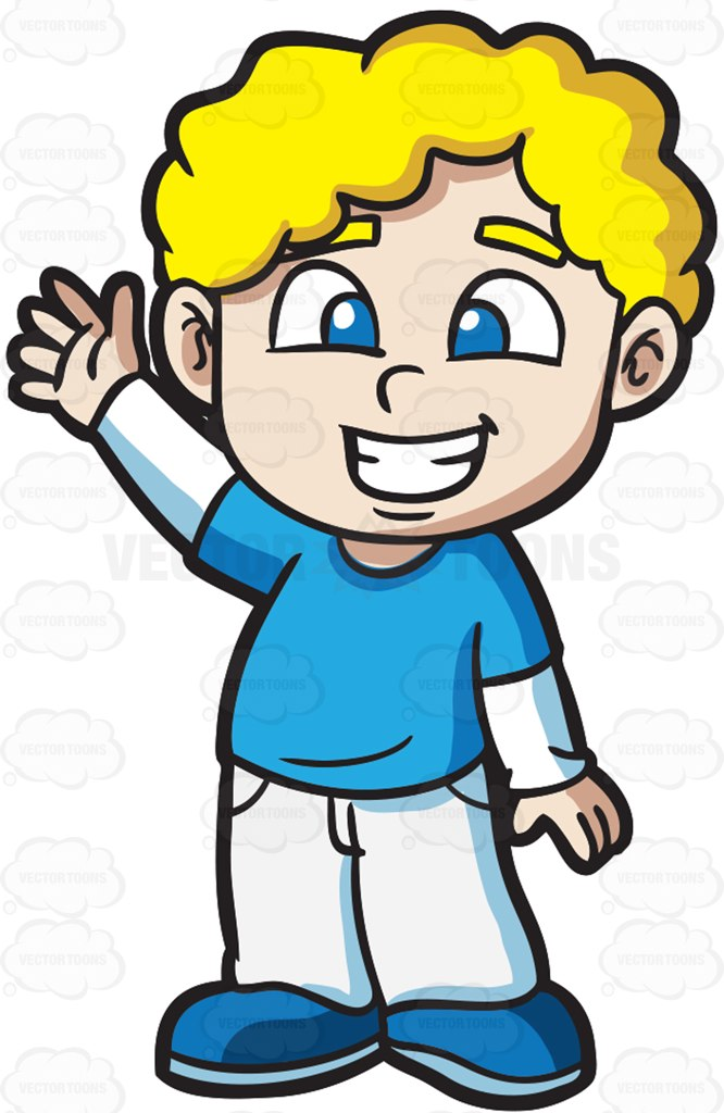 666x1024 A Very Friendly And Happy Boy Cartoon Clipart Vector Toons