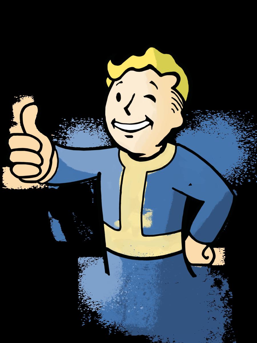 900x1200 Fallout Clipart clip art