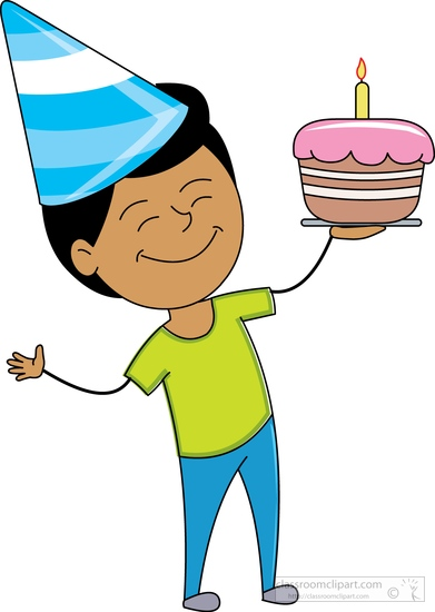 391x550 Boy Birthday Hat Clip Art