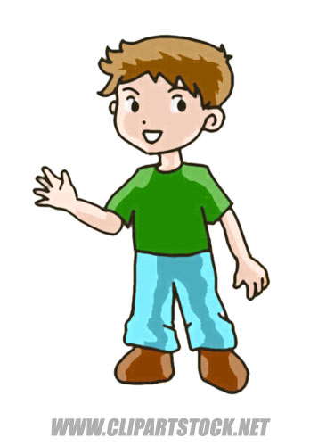 357x500 Free Clipart Of A Boy Collection