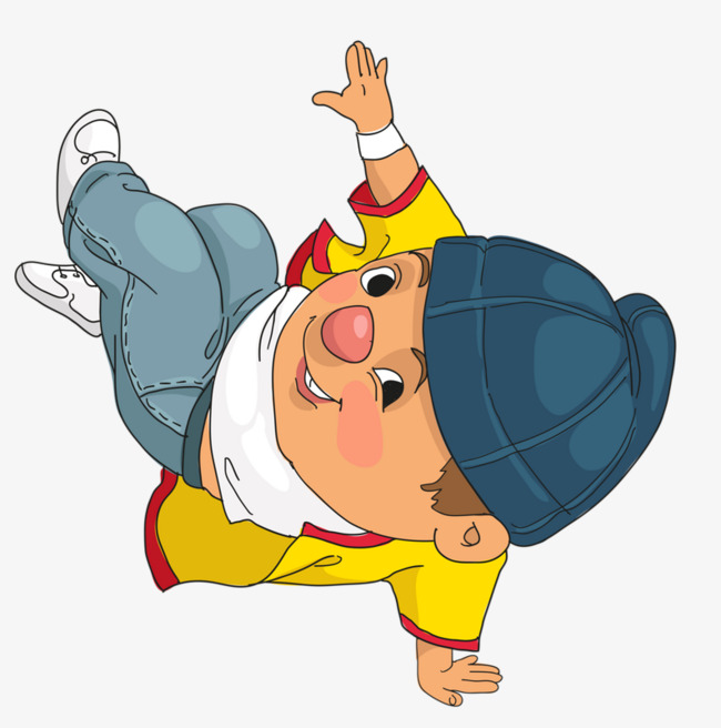 650x656 Street Dance Boy, Boy, Cartoon, Hat Png Image And Clipart For Free