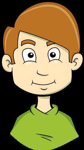 282x500 Comic Boy Avatar Vector Graphics Public Domain Vectors