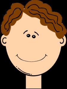 225x299 Happy Brown Hair Boy Clip Art