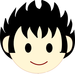299x297 Boy Face Happy Clip Art Clipart Panda