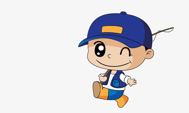 650x390 Cartoon Boy Fishing Rods, Cartoon, Fishing Rods, Little Boy Png