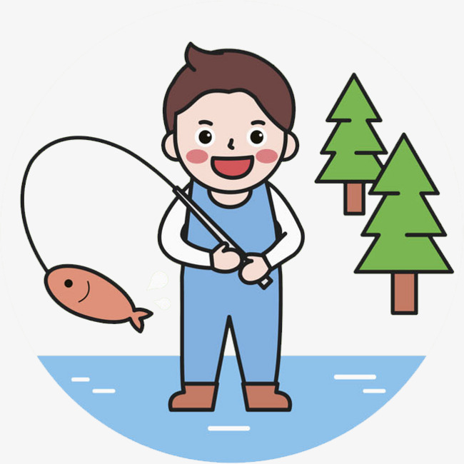 650x650 Fishing Boy, Go Fishing, The Tree, The River Png Image And Clipart