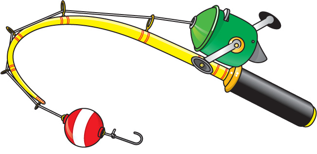 652x317 Fishing Pole With Fish Clipart Free Clipart Images