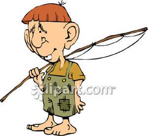 300x277 Hillbilly Boy Going Fishing