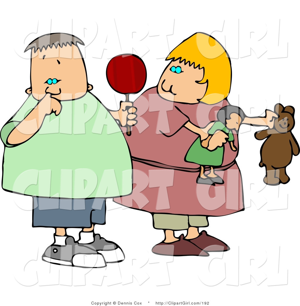 1024x1044 Clip Art Of A Chubby Girl Watching Nasty Boy Pick His Nose