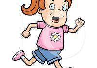 200x140 Clipart Running A Boy Running Fast To Win An Athletics Race