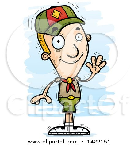 450x470 Royalty Free (Rf) Boy Scout Clipart, Illustrations, Vector Graphics