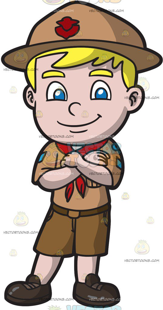 538x1024 Boy Scouts Clipart Vector Toons