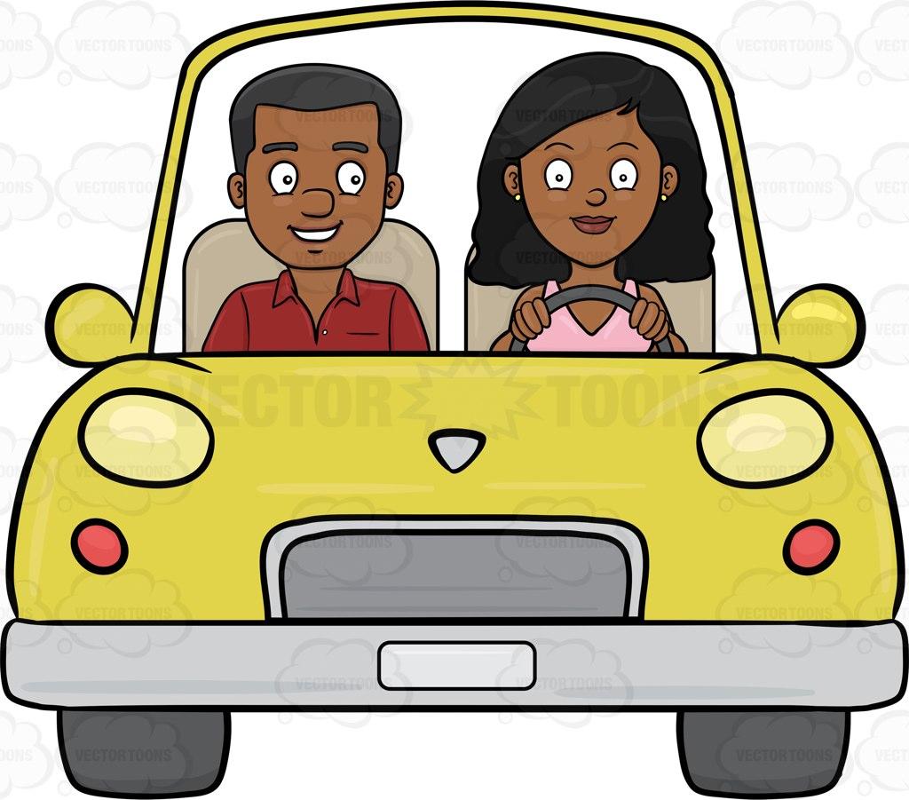 1024x901 A Black Woman Driving Her Boyfriend Around The Neighborhood