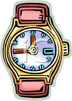 250x350 Clip Art Watch Bracelet Clipart