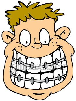 263x350 Kid With Braces Clip Art