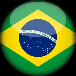 250x250 Brazil Flag Clipart