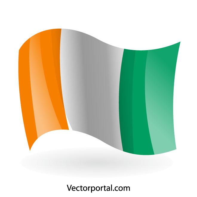 660x660 Ivory Coast Flag Vector Clip Art