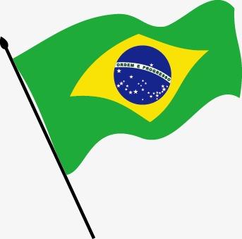 343x339 Vector Flag Of Brazil, Vector, Brazil, Flag Of Brazil Png