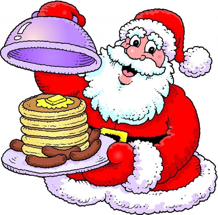 736x725 Breakfast With Santa Clipart