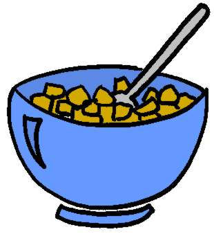 310x338 Breakfast Cereal Clipart