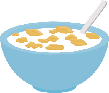 370x314 Breakfast Cereal Cliparts Free Download Clip Art