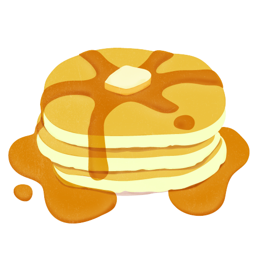512x512 Pancake With Syrup Clip Art Pj And Pancake Birthday Party