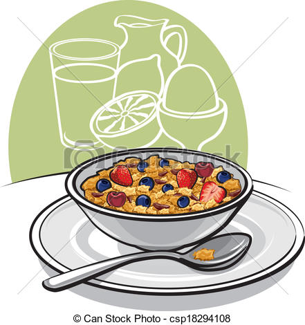 441x470 Healthy Breakfast Clipart Kids Eating Healthy Breakfast Clipart