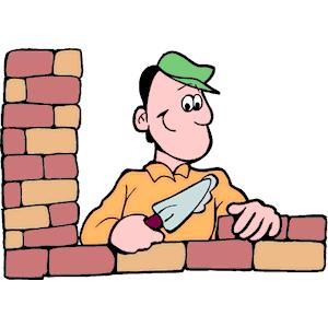 300x300 Brick Clipart Brick Mason