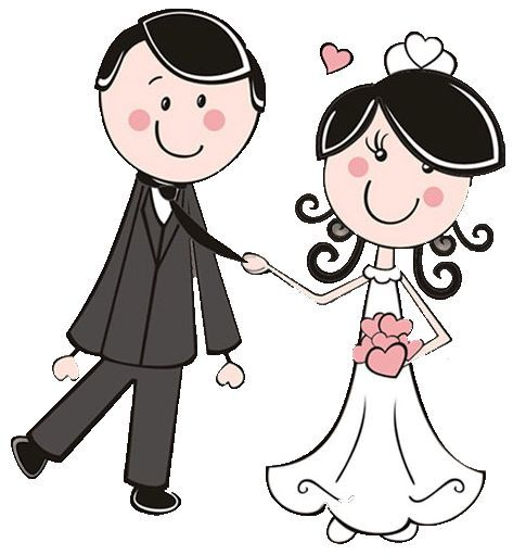 473x511 Bride And Groom Dibujos Clipart Digi Stamps Wedding Novios Boda