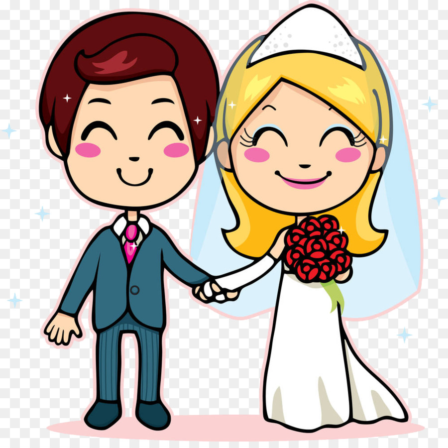 900x900 Marriage Echtpaar Drawing Clip Art