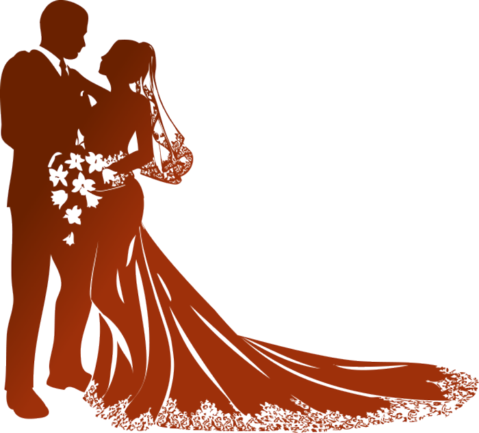 700x633 Wedding Couple Clipart Png Amp Wedding Couple Clip Art Png Images