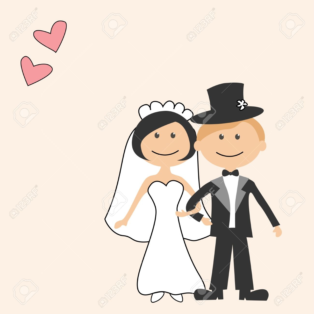1300x1300 Clip Art Bride Cartoon Clip Art
