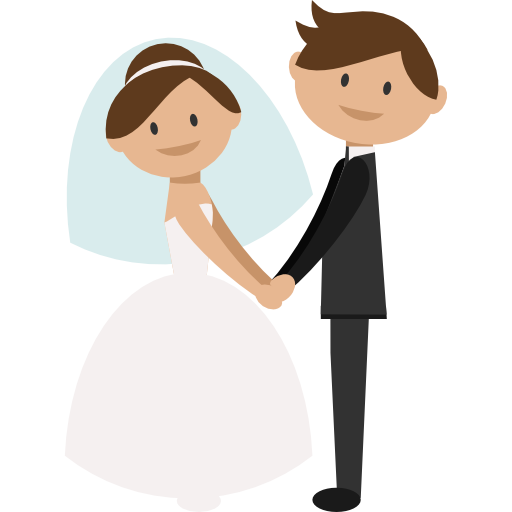 512x512 Collection Of Groom And Bride Clipart Png High Quality, Free