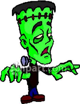 270x350 Frankenstein Clipart