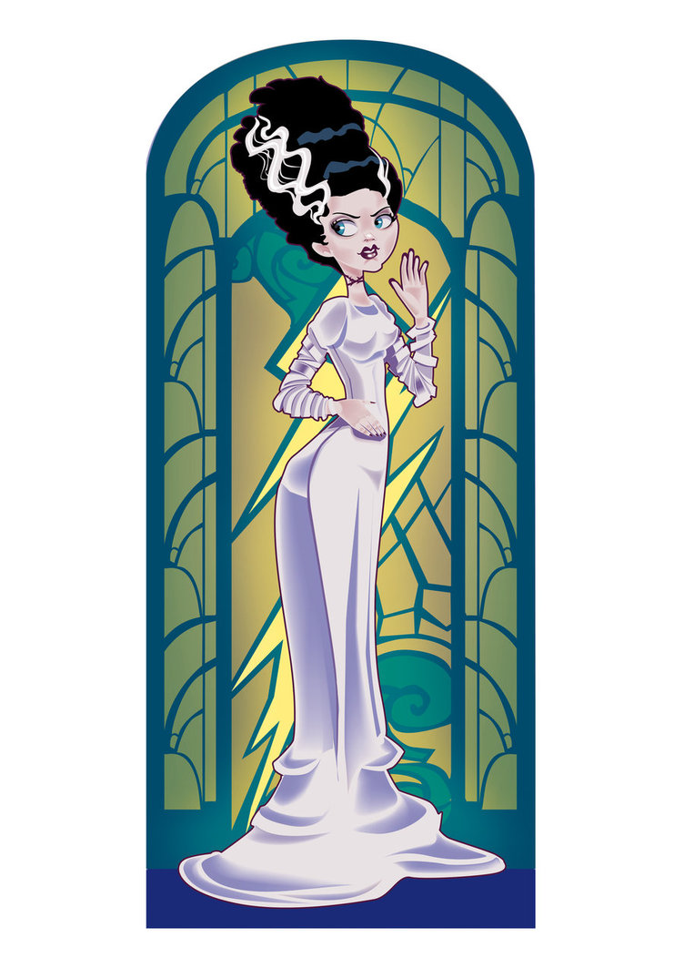 752x1063 Frankenstein Bride By Audreymolinatti
